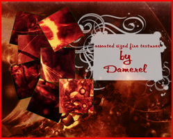 Fire textures by damerel