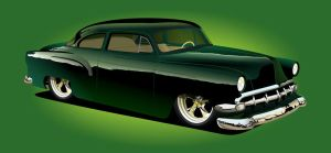 '54 Chevy by kenpoist
