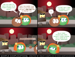 SC910 - Heather and Brandon by simpleCOMICS
