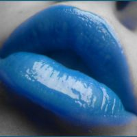 Blue Lips by deathnote1010