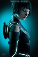 Olivia Wilde From TRON by MarcusJay