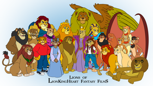 Lions of LKHFF by BennytheBeast