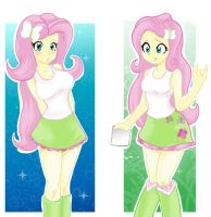 Fluttershy by orochivan by tokatl
