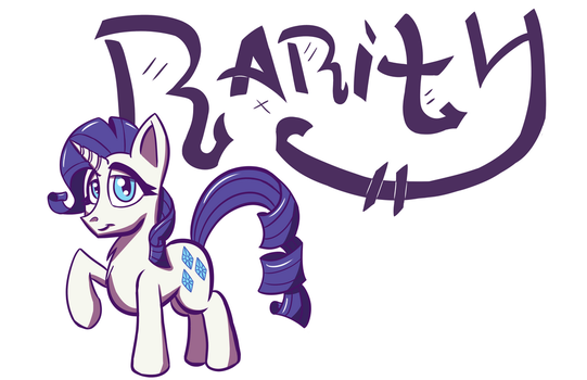 Rarity Poster (Normal) by SirDeeViant