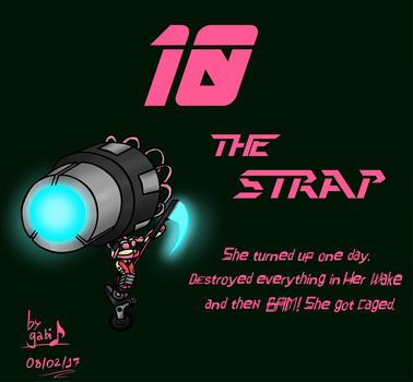 10 - The Strap by Waffle-the-kitten