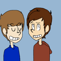 Ian and Anthony (old) by Lunas-Lovegood