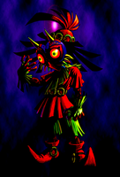 Skull Kid by Legend-tony980