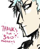 Thanks for 500 Pageviews by kyuuketsukigirl-15