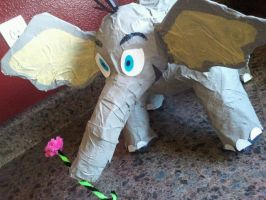Horton hears a who Paper Mache by jelc85
