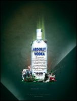 Absolut Vodka - Personal Work by markusnowakowski