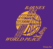 LA Lakers Logo by timmytheazn