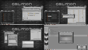 OBLIVION theme for windows 7 by ORTHODOXX67