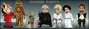 Star Wars Zombie Party by Mesterfer