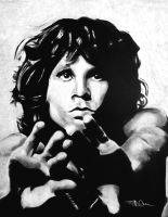 Jim Morrison by BDCurran