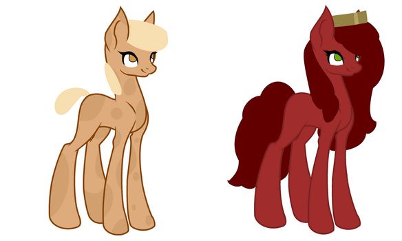 Peanut and Jam Adopts (OPEN) by TheJekyllBrony