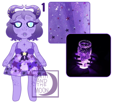 (S)Aesthetic Demon Adopt: Make A Wish: OPEN by albinospooks-adopts