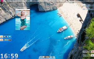 Tema para Windows 7 Clear Girl by 117fausto