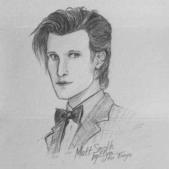 Matt Smith by Tsukun27