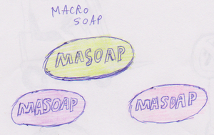 Macro soap by WhippetWild