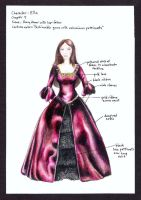 Ella Enchanted Costume 4 by wretchedharmony-lina