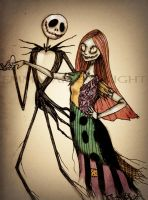 Jack and Sally by AphoticBlight