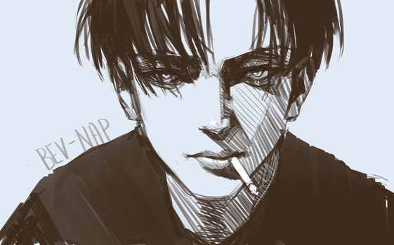 Realistic Levi by Bev-Nap