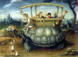 The turtle bus by perodog