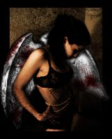 bloodied angel by ramastom
