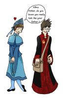 Albus Potter and Me by Kilimiria