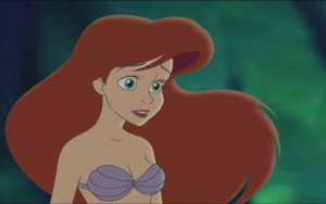 Ariel is Sad at what she is hearing by Arielfan90