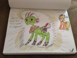 Granny Smith Rainbowified by Hazeltail55