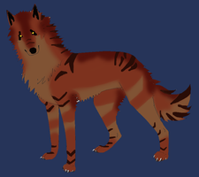 OPEN Male Wolf Adopt by Niyra