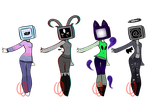 Aesthetic TV heads 12 (CLOSED) by Emptyproxy