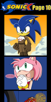 Sonic X comic page 10 (the last page) by Nala6098