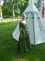 Late 15th century dress by medieval-squirrel