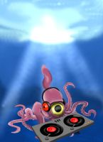 Techno Squid by amydrewthat