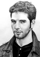 Damien Molony aka Hal, Being Human by Mim78