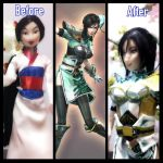 Xing Cai (Dynasty Warriors 7): Before and After by gale015