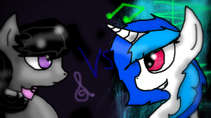 Music Battle by ASKQueenChrysalisXX