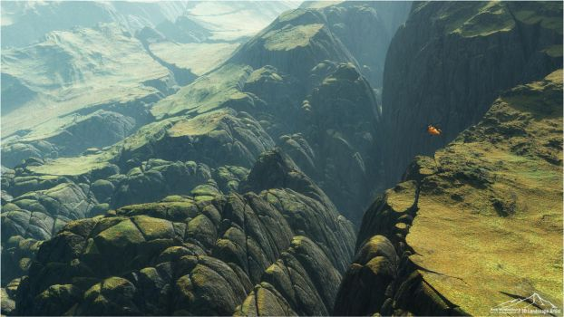 Flight by 3DLandscapeArtist
