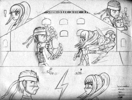 Love at First Fight by ME-zero