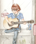 Guitar picture FINISHED by xmoonlitxdreamx