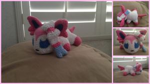 Sylveon Amigurumi by Ignition4596