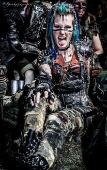 Wastelander - Post Apocalyptic Warrior by LivingDreadDoll