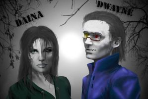 Dwayne and Daina by RusCoollGirl