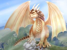 Draco - Dragonheart by Vani-Fox