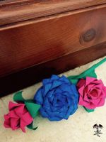 The roses embedded by TheFenice