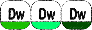 adobe dream weaver Sketch icon by THE-GREMLIN