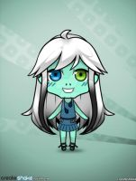 Frankie chibi avatar by DarkRoseDiamond123