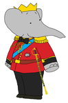 King Babar - Child - Coronation Anniversary Outfit by KingLionelLionheart